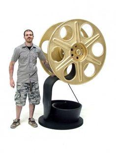 Giant Film Reel Prop