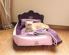 Comfortable Soft Full Washable Pet  Princess Bed        >>> Great deal    http://amzn.to/2bfLDGb