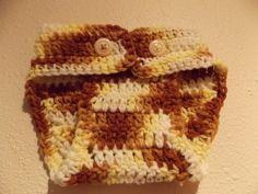 Crochet Newborn Cream Brown & Yellow by MrsSchafferCreations, $10.00