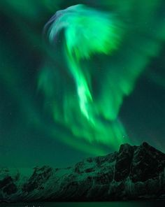 The biggest solar flare in six years reached Earth on January and created this beautiful aurora. Photo by Bjorn Jorgensen. Would Love to See an Aurora in person. they look so amazing. All Nature, Science And Nature, Amazing Nature, Beautiful Sky, Beautiful World, Beautiful Places, Aurora Borealis, Earth From Space, To Infinity And Beyond