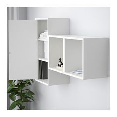 EKET Wall-mounted cabinet combination - white - IKEA | Resort Room ...