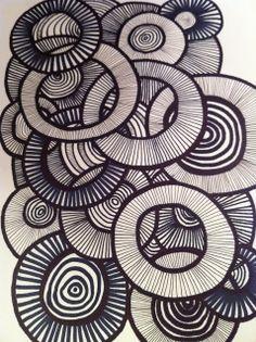 D´jo hanne: Gang i tusserne Element of Art: Line Principle of Art: Pattern Explain Overlapping