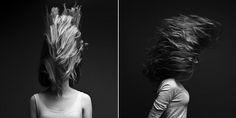 WHip my hair back and forth... WANT to do a shoot like this...