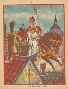Sint Nicolaas en zijn knecht ca. ? (A5)
