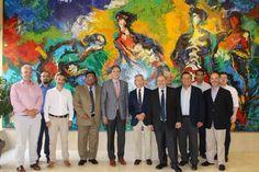 Una delegación latinoamericana visita la cuenca del Segura para estudiar el uso eficiente del agua