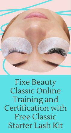 Right now we are offering our Online Classic Lash Course for only $297 (regular $1202)! OUR GRADUATES ARE EARNING UP TO $15,000/MONTH WORKING THEIR OWN SCHEDULE. You could get started in your new career, from the comfort of your own home, in less than 2-days, with our 100% online lash academy. The Classic Lash Starter Kit comes with our favourite FIXE products. Beauty Lash, Beauty Makeup Tips, Beauty Skin, Gel Remover, Mascara Wands, Beauty Magazine, Lash Extensions, All Things Beauty, Cosmetology
