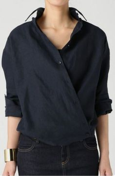 ideas sewing clothes shirts simple for 2019 Mode Outfits, Casual Outfits, Fashion Outfits, Womens Fashion, Fashion Trends, Modest Fashion, Fashion News, Sewing Shirts, Sewing Clothes