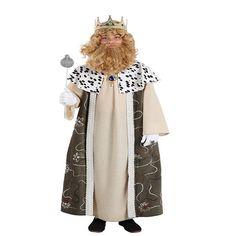 DisfracesMimo, disfraz de rey gaspar infantil varias tallas. Es perfecto para celebraciones navideñas, tales como belenes vivientes,desfiles o las tradicionales representaciones escolares.Este disfraz es ideal para tus fiestas temáticas de disfraces reyes magos para niños.
