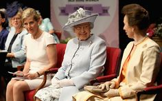 telegraph:  Countess of Wessex, Queen Elizabeth, and the Princess Royal, members all, attended the Women's Institute centenary annual general meeting at Royal Albert Hall, June 4, 2015