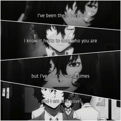 Dazai Osuma || Bungou Stray Dogs || Anime Quote