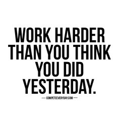 We can always put in more effort than we think we did. Motivate yourself in fitness, health, business, love, and life.