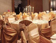 Champagne wedding color scheme