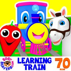 This new 70-Minute Collection is Packed with Animated Songs & Lessons Starring Busy Beavers & Stevie Steamer the Learning Train and Teaches Toddlers Colors, Shapes, Fruit, Animal Names, Counting & Much More! Enjoy ☺  http://bit.ly/Learning-Train