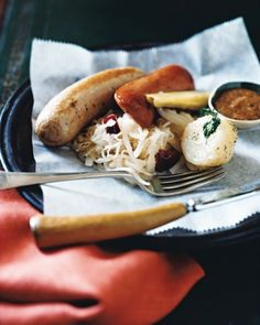 At Last, It's Time to Eat!  Prepare for the Wurst:  Oktoberfest recipes for every palate.