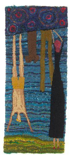 hand hooked rug