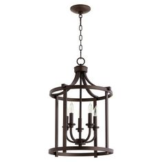 Quorum Lancaster Five-Light Foyer Chandelier - All For Decoration Entry Chandelier, Entry Lighting, Kitchen Chandelier, Chandelier In Living Room, Bronze Chandelier, Rustic Chandelier, Chandelier Lighting, Chandeliers, House Lighting