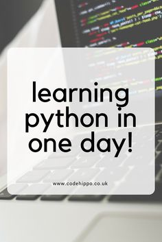 Today I learnt to code in Python! Discover how I learnt to program in Python in just one day! Tips to learning something quickly!