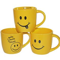 """Becher """"Gute Laune"""" Kaffeebecher Kaffee"""