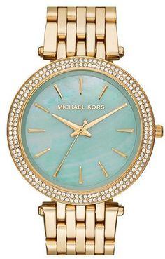 Love the mint!  Michael Kors Watch