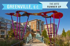 The Arts: A revitalization in Greenville in the 1990s saw the conversion of several industrial areas into performing art spaces, including the Warehouse Theater, which started as a textile mill. Greenville now hosts 10 music, food, and art festivals a year.