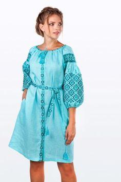 Пишні рукави сукні типу