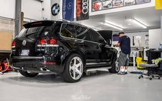 We're kicking off with a Signature Detail on the Rotiform equipped eGarage VW Touareg! Touareg Vw, Jetta Tdi, Automotive Detailing, Car Detailing, Car Wrap, Cool Cars, Super Cars, Benz
