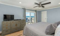 Cool Water Beach | Seagrove Beach | #30A | Pet-Friendly and located just steps from the beach in the highly desirable community of Seagrove, with beautiful beach views and large deck where you can watch the dolphins swim in the surf.