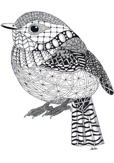 Zentangle Animals | Zentangle Template Zentangle means nothing to