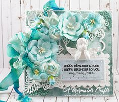 A Mermaids Crafts: Late Birthday Wishes for Wild Orchid Crafts