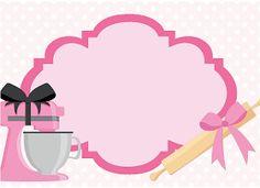 Paula e Marcelo Baking Logo Design, Cake Logo Design, Logo Cookies, Bakery Business Cards, Cake Business, Baking Party, Bakery Logo, Recipe Cards, Cute Wallpapers