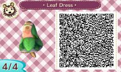 """(LINK) khn-acnl: """"An anon asked me on my theme blog to release the QR code for what I was wearing in the TPC theme, so here it is! I'm glad you like it anon ♥ """""""