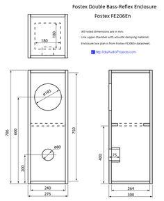 Hivi Sp10 Diy Subwoofer Enclosure Drawing Rh Com 18 Cabinet Design Speaker Box Plans Blueprints