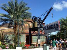 First Look! Jock Lindsey's Hangar Bar in Disney World's Disney Springs