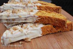 Pumpkin Gingerbread Biscotti - lovintheoven.com