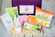 Mama Boxes  For moms-to-be, the little things count—big time. Which makes Mama Boxes, trimester-specific care packages ($23 each) containing ten full-size products, so much fun to receive. The featured items change routinely. Newly pregnant? Expect treats like candies for morning sickness, prenatal vitamins and healthy snacks. In the second trimester? Lip balm, stretch mark cream or body scrub might come your way. Entering the home stretch? Enjoy stationery, deodorant, baby products or…