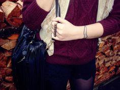 Sweter - oasap Torebka - http://www.chicnova.com/ Szorty - romwe
