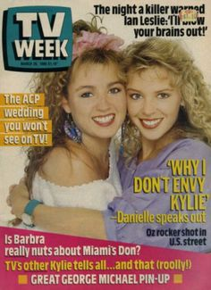 Emma Home and Away and Charlene Neighbours Dannii Minogue, Kylie Minogue, Audrey Fluerot, 1980s Tv Shows, Melbourne, Time Warp, Television Program, See On Tv, Tv On The Radio