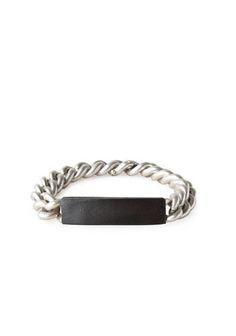 Maison Martin Margiela Line 11 | Chain/Leather Bracelet | La Garçonne