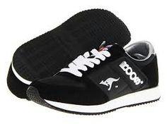 8fb4ba75dc8 Black Roo shoes Svarta Sneakers, Svarta Skor, Skor Sneakers, Skor 2014, Lila
