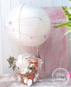 Ruckmeldung Bastelanleitung Heissluftballon Als Geldgeschenk