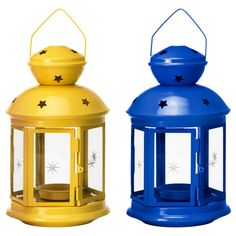 Also in black and silver.  If you throw lots of party great way to add color inexpensively.  ROTERA Lantern for tealight - IKEA