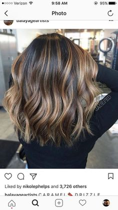 Trendy Hair Highlights : This is exact color and length I want my hair - Hair Color Fall Hair Colors, Nice Hair Colors, Trendy Hair Colors, Beautiful Hair Color, Trendy Nails, Brown Blonde Hair, Dark Blonde, Winter Blonde Hair, Winter Hair
