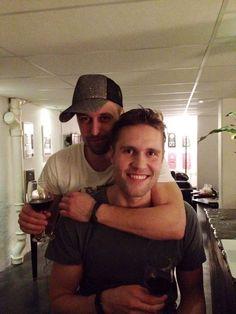 Min gode ven og producer, Alexander Grandjean.    Ser ud til, han er i godt selskab!