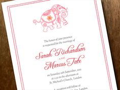 Cheap invitations that you can print yourself or take to a print shop.