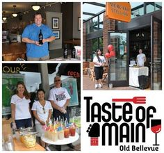 Get a taste of Old Bellevue's Main Street—including fabulous restaurants, wines and more—this Saturday at Taste of Main from 11:30 to 4:30. Learn about the event in our new blog post. #TasteOfMain #BellevueWA