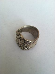Vintage 70's Silver Spoon Ring by outoftheblueVINTAGES on Etsy, $34.00