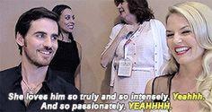 Colin and Jennifer at SDCC 2015