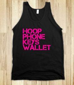 What you need: Hooper Tee from Hoop Cubed