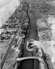 ...last days of the Venice Oil Fields...