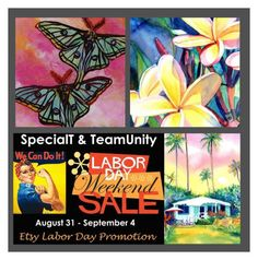 Kauai Artist #LaborDaySale by rescuedofferings on Polyvore featuring art